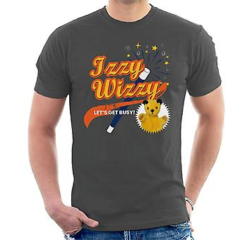 Sooty Magic Wand Izzy Wizzy Let's Get Busy Men's T-Shirt