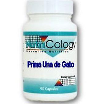 Nutricology/ Allergy Research Group Prima Una De Gato, 90 Caps