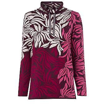 Olsen Berry Floral Design Jumper