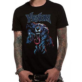 Venom Adultos Unisex Adultos Agarrar Camiseta