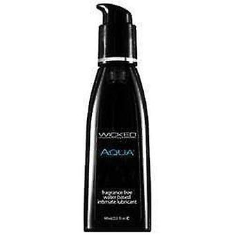 Wicked sensual care aqua fragrance free water based lubricant 60 ml / 2.03 fl oz