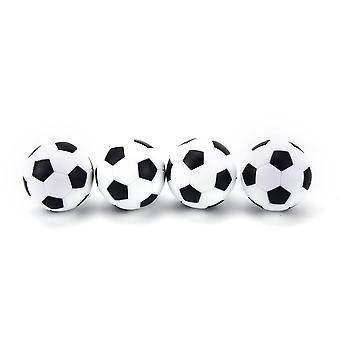 4 Pcs 32mm Football Sport Round Indoor Games- Foosball Table Football Plastique