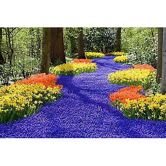 Fondo de pantalla Mural Flores de primavera
