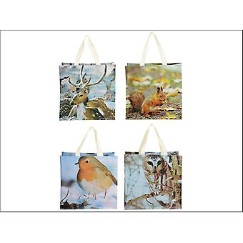 Fallen Fruits Shopping Bag Winter Scene Assorted TP138