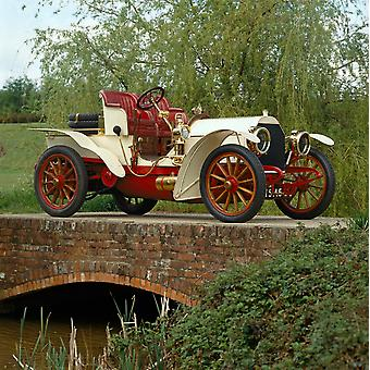 1903 Mercedes Simplex sixty 2-seat sporting tourer Country of origin Germany Poster Print