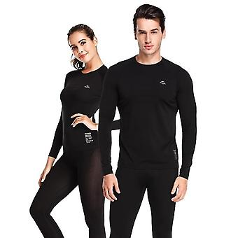 Men-women Winter Quick Dry Anti-microbial Stretch, Termální Dlouhý polyester tlustý