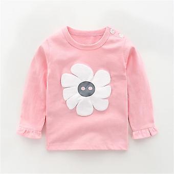 Sweatshirts pour bébé, Cotton Cartoon Animal Print Infants Haut à manches longues