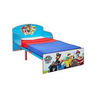 Paw Patrol Toddler Bed Plus Fibre Mattress