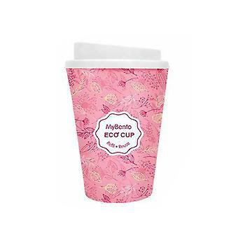 Topmødet MyBento Dobbelt Væg Plast Krus Kaffe Tea Travel Udendørs - Pink