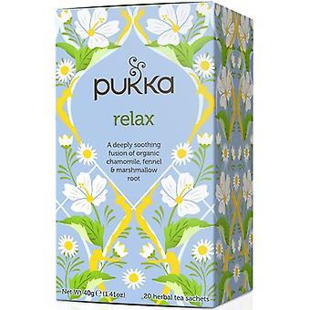 Pukka Ekologisk Relax Tea 40g (20's) x4
