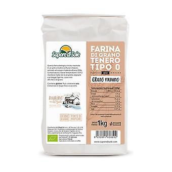 Type 0 Soft Wheat Flour 1 kg of powder
