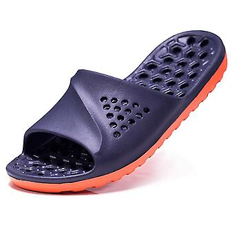 Hommes Casual Non-slip Slides Summer Massage Flip Flops Bathroom &beach Slipper