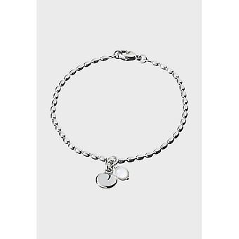 Kalevala Bracelet Women's Twinflower Silver Pearl 2565402HE175 - Length 500 mm