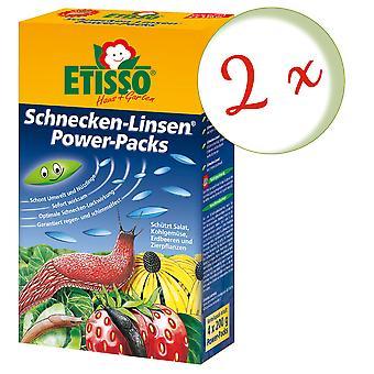 Sparset: 2 x FRUNOL DELICIA® Etisso® Schnecken-Linsen Power-Pack, 4 x 200 g