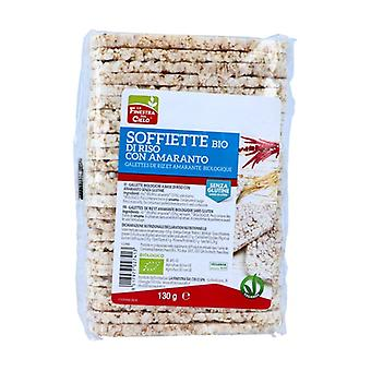 Riisipannukakkuja Amaranthilla 130 g