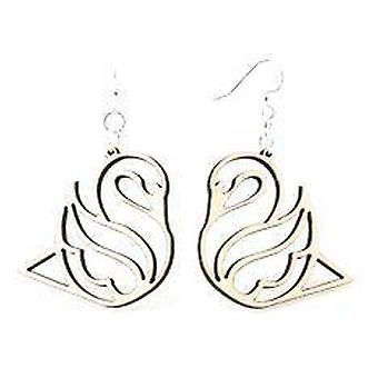 Swan Earrings # 1103