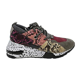 Steve Madden Femmes Cliff Cuir Bas Top Lace Up Sneakers mode