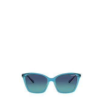 Vogue VO5333S top blue / transparent green female sunglasses