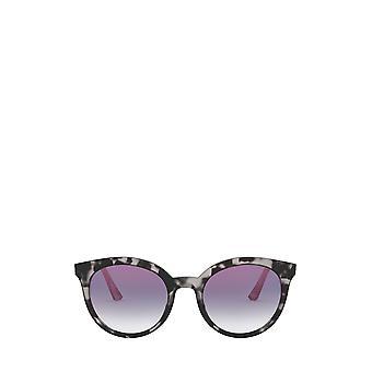 Prada PR 02XS grijze havana vrouwelijke zonnebril