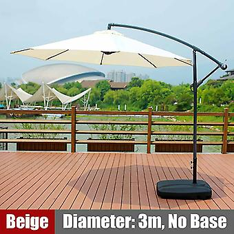 300cm Gazebo Tent With Iron Frame Adjustable Sunshade 8-bone Umbrella Tent &