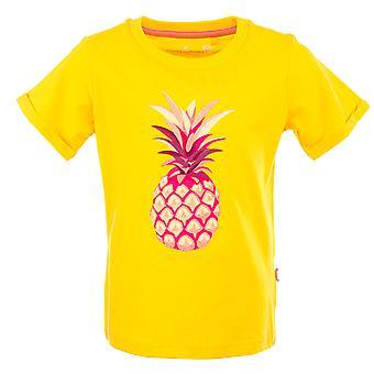 Stones and Bones Girls Tshirt Josey Pineapple Yellow