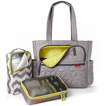 Skip Hop Forma Pack & Go Tote Changing Bag - Grey