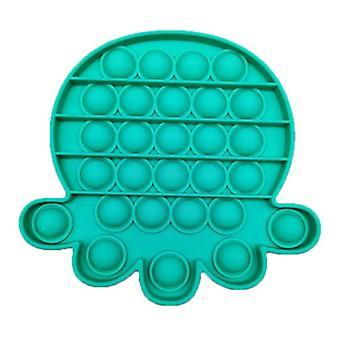 Stuff Certified® Pop It Mustekala - Fidget Anti Stress Lelu Kupla Lelu Silikoni Sininen