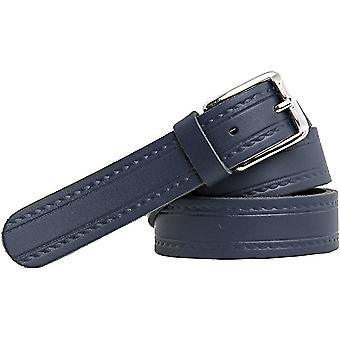 Shenky leather belt 3cm with pattern
