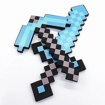 Malý typ Design Diamond Sword Soft Eva Pěnová hračka Děti Krásné