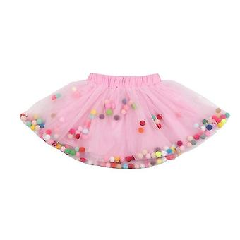 Skirt With Multicolor Balls