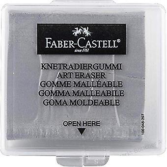 Faber-Castell Kneaded Eraser med fodral, Grå
