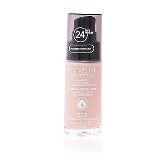 Colorstay foundation combination/oily skin #220-naturl beige 30 ml