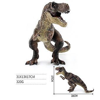 Suurikokoinen Jurassic Wild Life Dinosaur Muovi Leikki