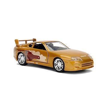 Nopea ja raivoisa '95 Toyota Supra 1:32 Asteikko Hollywood Ride