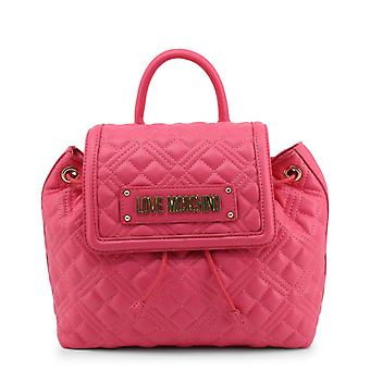 Love moschino women's backpack pink jc4009pp1cla0