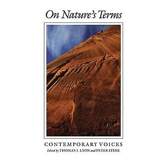 On Nature's Terms - Contemporary Voices by Thomas J. Lyon - 9780890965