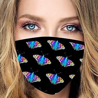 قناع غطاء الفم الوجه للجنسين
