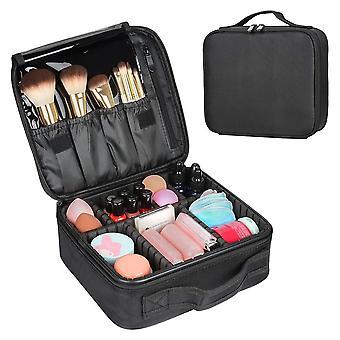 Wokex Kosmetiktasche, Zip Kosmetikbeutel Kosmetische Box Tragbare Reise Aufbewahrungstasche Toiletten