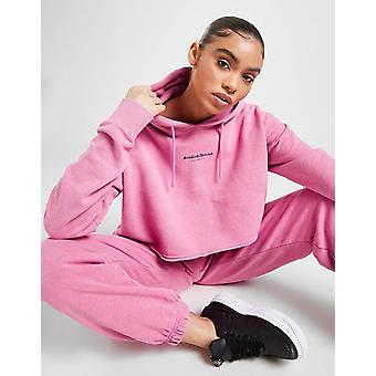 New Supply & Demand Women's Gothic Crop Hoodie from JD Outlet Pink