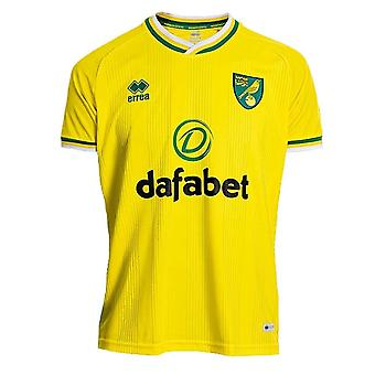 2020-2021 Norwich Home Shirt