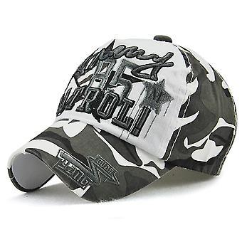 Children's hats handsome camouflage boys and girls baseball caps sun visor caps