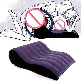 Cadeira de travesseiro inflável sexy Sex Love Bed Sofá Pad