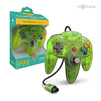 Nintendo 64 Wired Controller For N64 (Cyanine/Jungle) - Hyperkin