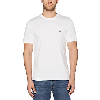 Original Penguin Pin Point Embroidery T-Shirt - Bright White