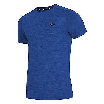 4F TSMF002 H4L19TSMF00230M treinando camiseta masculina