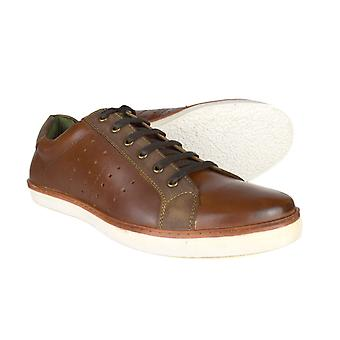 Silver Street London Gower Mens Tan Leather Casual Shoes