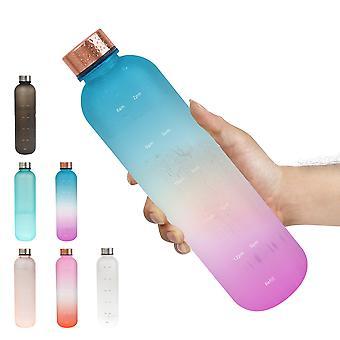 1L tritan sportvattenflaskor