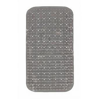 bath mat 68 x 38 cm PVC grey