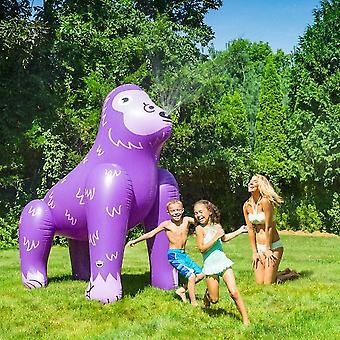 Bigmouth - ginormous ape yard sprinkler