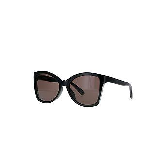 Balenciaga BB0150S 001 Black/Grey Sunglasses